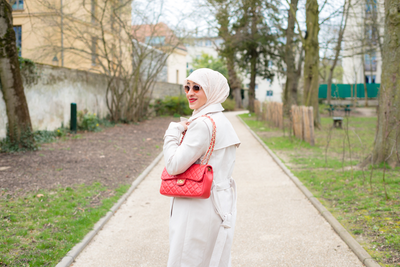 fashion hijabista in paris