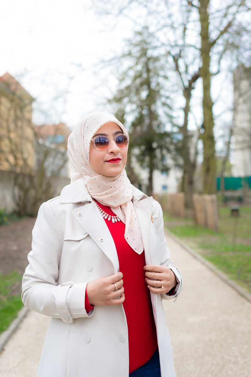 modest hijabi paris