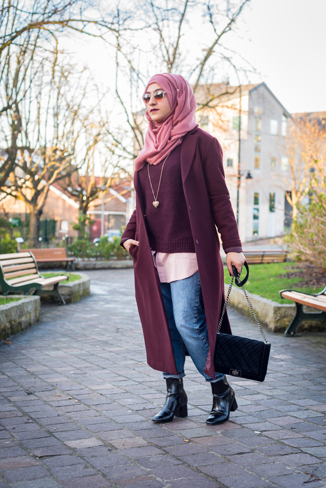 winter lookbook ootd outfits with hijab