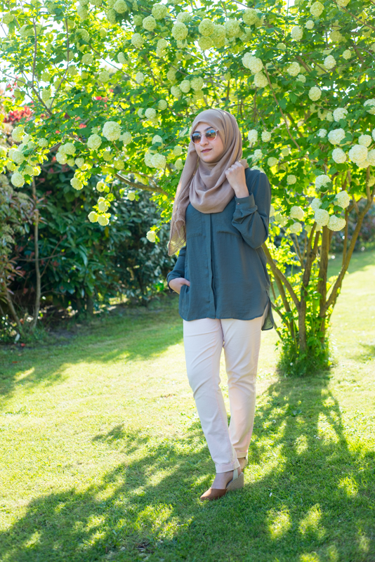 modest fashion hijab look