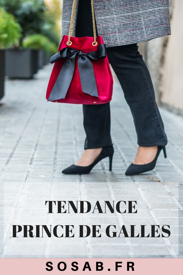 tendance prince de galles #trend #trendy #fashion #2017